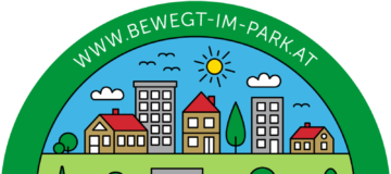 Bewegt im Park Logo.