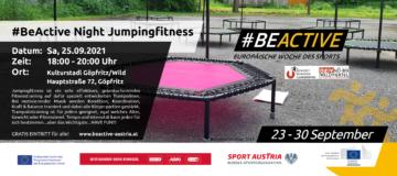 Jumping Fitness Werbebanner 2021